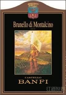 班菲布鲁奈罗蒙塔希诺干红葡萄酒(Castello Banfi Brunello di Montalcino,Tuscany,Italy)