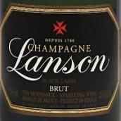 岚颂黑标极干型香槟(Champagne Lanson Black Label Brut,Champagne,France)