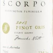 斯格波灰皮诺干白葡萄酒(Scorpo Wines Pinot Gris,Mornington Peninsula,Australia)