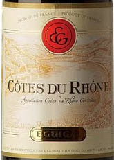吉佳乐世家酒庄干红葡萄酒(罗讷河谷丘)(E.Guigal,Cotes du Rhone,France)