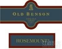 玫瑰山老本森茶色波特风格加强酒(Rosemount Estate Old Benson Fine Old Tawny Port,South ...)