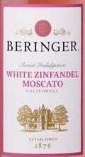 "贝灵哲""甜蜜之吻""白仙粉黛-麝香葡萄酒(Beringer Sweet Indulgence White Zinfandel-Moscato,California...)"