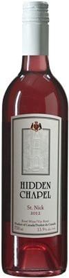 神秘小教堂圣尼克限量版桃红葡萄酒(Hidden Chapel Winery St.Nick Limited Quantity,British ...)