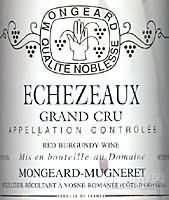 奇梦伊索瑟特级园干红葡萄酒(Domaine Mongeard-Mugneret Echezeaux Grand Cru, Cote de Nuits, France)