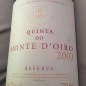 蒙特奥若珍藏干红葡萄酒(Quinta do Monte d'Oiro Reserva Vinho Regional Lisboa,...)
