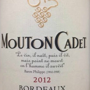 罗斯柴尔德男爵木桐嘉棣干红葡萄酒(Baron Philippe de Rothschild Mouton Cadet Rouge, Bordeaux, France)