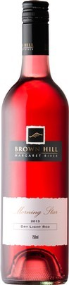 棕山晨星桃红葡萄酒(Brown Hill Estate Morning Star Dry Light Red,Margaret River,...)