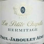嘉伯乐小教堂园干红葡萄酒(Paul Jaboulet Aine La Petite Chapelle,Hermitage,France)