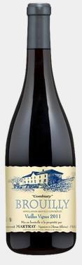 劳伦马特雷老藤孔比亚迪干红葡萄酒(Laurent Martray Brouilly Combiaty Vieilles Vignes,Beaujolais...)