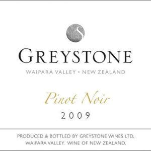 灰岩酒庄黑皮诺红葡萄酒(Greystone Pinot Noir, Waipara, New Zealand)
