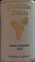 格兰温酒庄仙粉黛干红葡萄酒(Gwinllan Estate Zinfandel,El Dorado County,USA)