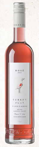 红顶鹳桃红葡萄酒(Turkey Flat Vineyards Rose,Barossa Valley,Australia)