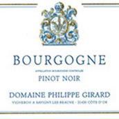 菲利普·吉拉德酒庄黑皮诺红葡萄酒(Domaine Philippe Girard Bourgogne Pinot Noir,Burgundy,France)