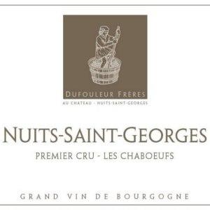 杜福尔兄弟酒庄夏博(夜圣乔治一级园)干红葡萄酒(Maison Dufouleur Freres Les Chaboeufs, Nuits-Saint-Georges Premier Cru, France)