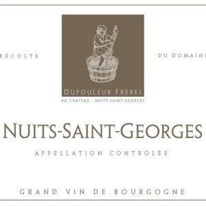 杜福尔兄弟酒庄(夜圣乔治村)干红葡萄酒(Maison Dufouleur Freres Nuits-Saint-Georges, Cote de Nuits, France)