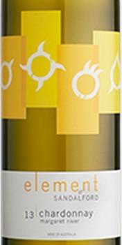 山度富酒庄元素霞多丽干白葡萄酒(Sandalford Element Chardonnay,Margaret River,Australia)