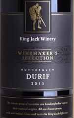 杰克王酿酒师精选系列杜瑞夫干红葡萄酒(King Jack Winemaker's Selection Durif, Rutherglen, Australia)