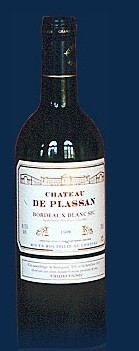 普拉桑波尔多干白葡萄酒(Chateau de Plassan Blanc,Bordeaux,France)