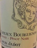 陆毅拉铎酒庄混酿干红葡萄酒(Louis Jadot Gamay-Pinot Noir,Burgundy,France)