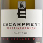 悬崖酒庄灰皮诺白葡萄酒(Escarpment Pinot Gris,Martinborough,New Zealand)