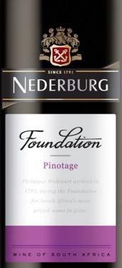 尼德堡基础系列皮诺塔吉干红葡萄酒(Nederburg Foundation Pinotage,Western Cape,South Africa)