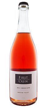 福斯特溪慕斯卡托桃红葡萄酒(First Creek Moscato,Hunter Valley,Australia)