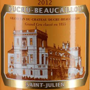 宝嘉龙城堡红葡萄酒(Chateau Ducru-Beaucaillou, Saint-Julien, France)