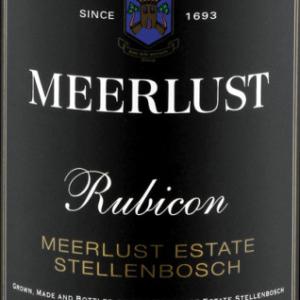 美蕾卢比肯干红葡萄酒(Meerlust Rubicon,Stellenbosch,South Africa)
