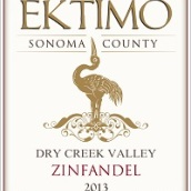 感恩酒庄干溪谷仙粉黛干红葡萄酒(Ektimo Vineyards Zinfandel, Dry Creek Valley, USA)