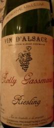 罗利贾斯曼年份珍藏雷司令干白葡萄酒(Rolly Gassmann Millesime Reserve Riesling,Alsace,France)