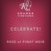 克雷默酒庄欢庆黑皮诺桃红起泡葡萄酒(Kramer Vineyards Celebrate Pinot Noir Sparking Rose, Yamhill-Carlton District, U.S.A.)