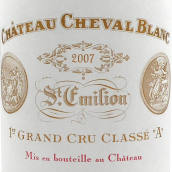 白马酒庄红葡萄酒(Chateau Cheval Blanc,Saint-Emilion Grand Cru Classe,France)