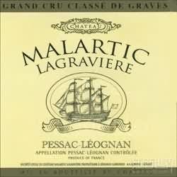 马拉狄酒庄红葡萄酒(Chateau Malartic-Lagraviere,Pessac-Leognan,France)