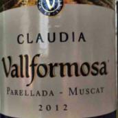 Vallformosa Claudia Parellada-Muscat,Penedes,Spain