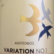 安斯特德酒庄第1号变种西拉干红葡萄酒(Ansted&Co.Variation No.1 Syrah,Bendigo,Australia)