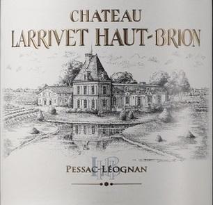 拉里·奥比昂酒庄干红葡萄酒(Chateau Larrivet Haut-Brion,Pessac-Leognan,France)