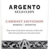 银谷精选赤霞珠干红葡萄酒(Argento Seleccion Cabernet Sauvignon, Mendoza, Argentina)