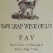 鹿跃酒窖仙女园赤霞珠干红葡萄酒(Stag's Leap Wine Cellars Warren Winiarski Estate Fay Cabernet Sauvignon, Napa Valley, USA)