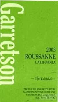 Garretson Rousanne,Paso Robles,USA