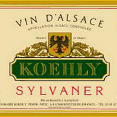库利传统西万尼白葡萄酒(Koehly Sylvaner Tradition,Alsace,France)