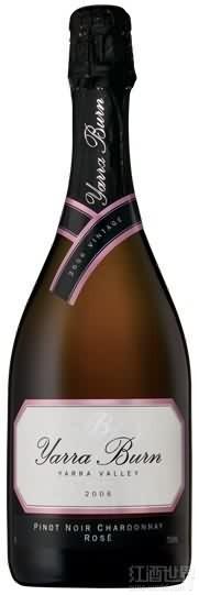 雅拉燃黑皮诺-霞多丽桃红起泡酒(Yarra Burn Pinot Noir-Chardonnay,Yarra Valley,Australia)