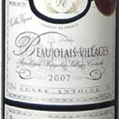 克雷斯酒庄博若莱村庄安托万干红葡萄酒(Domaine des Cretes Beaujolais Villages Antoine,Beaujolais,...)