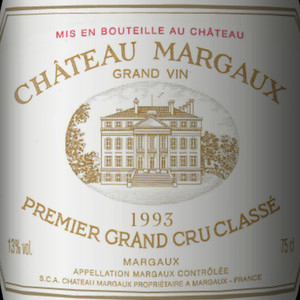 玛歌酒庄红葡萄酒(Chateau Margaux,Margaux,France)