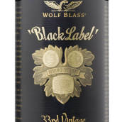 禾富黑牌赤霞珠-西拉-马尔贝克混酿干红葡萄酒(Wolf Blass Black Label Cabernet Sauvignon Shiraz Malbec, South Australia, Australia)