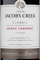 杰卡斯雨果西拉-赤霞珠干红葡萄酒(Jacob's Creek St Hugo Shiraz-Cabernet,Barossa Valley,...)
