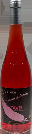 诗利亚塔维勒桃红葡萄酒(Domaine des 3 Cellier Tavel,Rhone Valley,France)