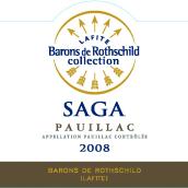 拉菲传说波雅克干红葡萄酒(Barons de Rothschild Collection(Lafite)Saga,Pauillac,France)