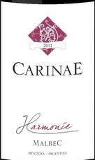 卡瑞尼和谐马尔贝克干红葡萄酒(Carinae Harmonie Malbec, Mendoza, Argentina)