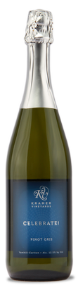 克雷默酒庄欢庆灰皮诺起泡葡萄酒(Kramer Vineyards Celebrate Pinot Gris, Yamhill-Carlton District, U.S.A.)