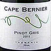 海角贝尼尔灰皮诺干白葡萄酒(Cape Bernier Pinot Gris,Tasmania,Australia)